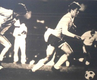 The Herald-Leader captured Todd Bretz in action in the 1983 state finals for Lexington Catholic.