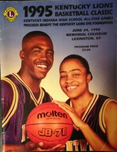 Mr. Basketball Charles Thomas and Miss Basketball Ukari Figgs were on the 1995 cover.