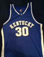 Dennis Johnson never got a chance to wear his UK basketball jersey.