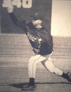 Mark Michael's strong pitching led Lexington Catholic to its first state baseball title in 1999. (Herald-Leader photo)