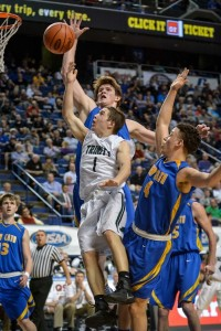 The Whitaker Bank/KHSAA Boys Sweet 16 State Basketball Tournament, at Rupp Arena, Lexington, KY, March 16, 2016. Photo by Tim Webb